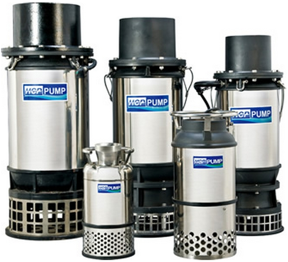 L serie Large volume submersible pump
