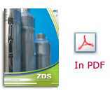 ZDS Technical Catalogue Pricelist borehole pumps