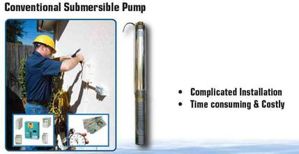 Conventional submersible pump